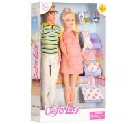 Набор кукол семья Defa 8349 2 вида