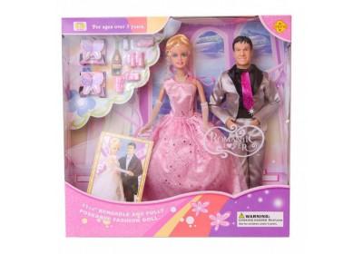Набор кукол Defa 20991 жених и невеста 2 вида