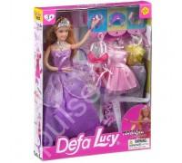 Кукла с нарядами Defa 8269