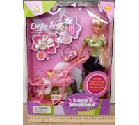 Кукла с коляской и ребенком Defa 20958