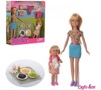 Кукла Defa с дочкой Пикник 8282