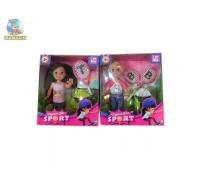 Кукла Defa с ракетками теннис 899-35 (2 цвета)