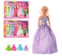 Кукла с платьями Defa 8027 3 вида