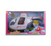 Кукла на вертолете Defa Lucy 8422-BF