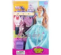 Кукла с нарядами Defa 8012
