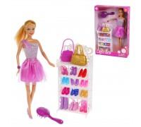 Кукла Defa с набором обуви 8316