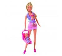 Кукла Simba Штеффи Няня Розовая 5730211