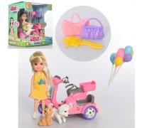 Кукла с мотоциклом и животными 53818