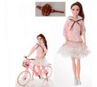 Кукла Emily с велосипедом QJ077