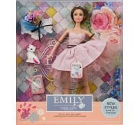 Кукла Emily с букетом и аксессуарами QJ077A