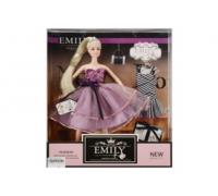 Кукла Emily с платьем и сумочкой QJ081A