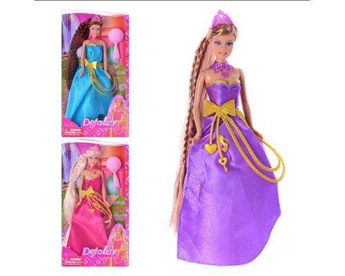 Кукла Defa в нарядном платье с аксессуарами 8195