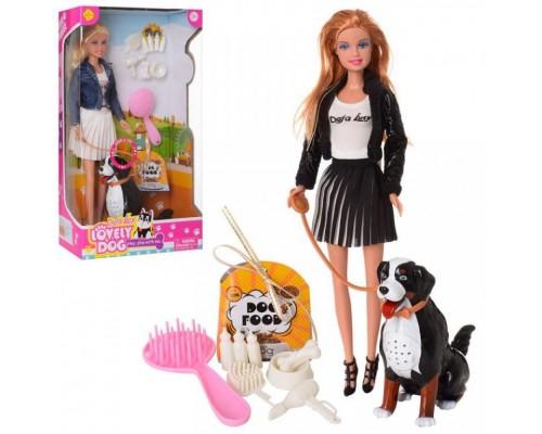 Кукла Defa с собакой и аксессуарами 8428-BF