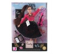 Кукла Emily со скрипкой 28 см QJ 070