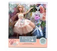 Кукла Emily с одеждой и аксессуарами 28 см QJ 077 C