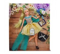 Кукла Emily с сумкой и аксессуарами QJ079В