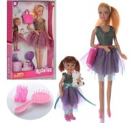 Кукла с дочкой Defa 8304
