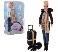 Кукла с чемоданом Defa 8424