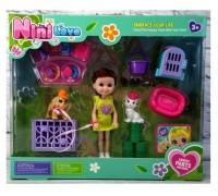 Кукла с собачкой игровой набор 53803