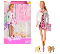 Кукла Defa Доктор ветеринар с аксессуарами 8346A