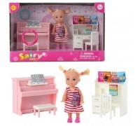 Кукла Defa с набором мебели 8414