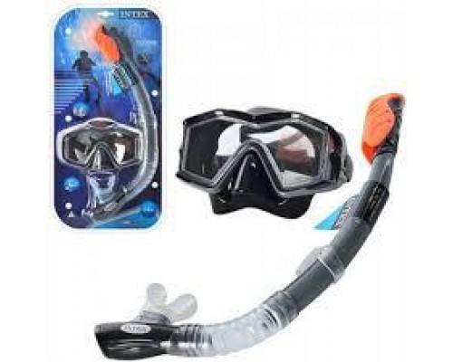 Набор для плавания маска трубка Intex 55962