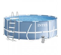 Бассейн каркасный Intex 26706 305*99 см с лестницей и фильтр-насосом