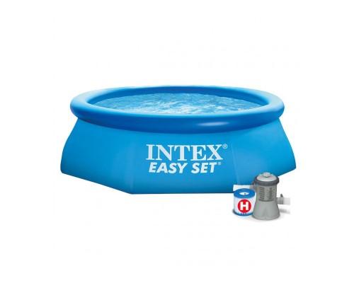 Бассейн наливной семейный Intex 28112 244*76 см