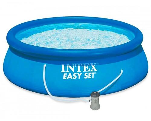 Бассейн наливной семейный Intex 28142 с фильтр-насосом