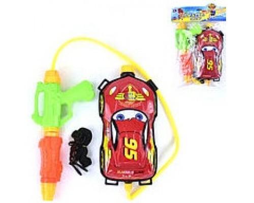 Водный пистолет с рюкзаком Тачки 024