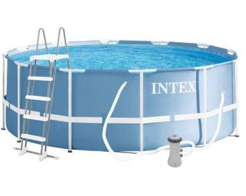 Бассейн каркасный Intex 26718 366 х 122 см с лестницей и фильтр-насосом