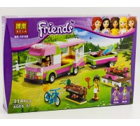Конструктор Bela Friends 10168 Оливия и домик на колёсах