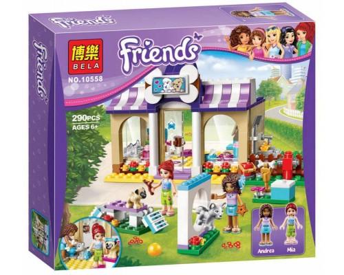 Конструктор Bela Friends 10558 Детский сад для щенков