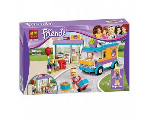 Конструктор Bela Friends 10608 Служба доставки подарков