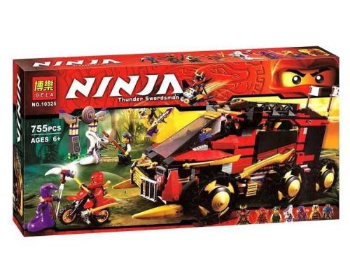 Конструктор Bela Ninja 10325 Мобильная база Ниндзя