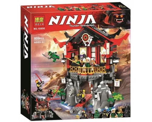 Конструктор Bela Ninja 10806 Храм воскресения