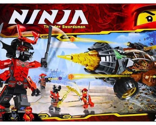 Конструктор Bela Ninja 11163 Земляной бур Коула