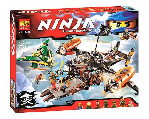 Конструктор Bela Ninja 10462 Цитадель несчастья