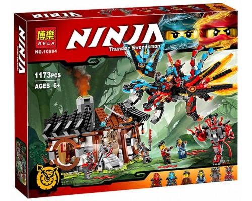 Конструктор Bela Ninja 10584 Кузница дракона