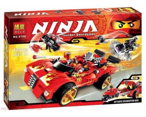 Конструктор Bela Ninja 9796 Машина перехватчик