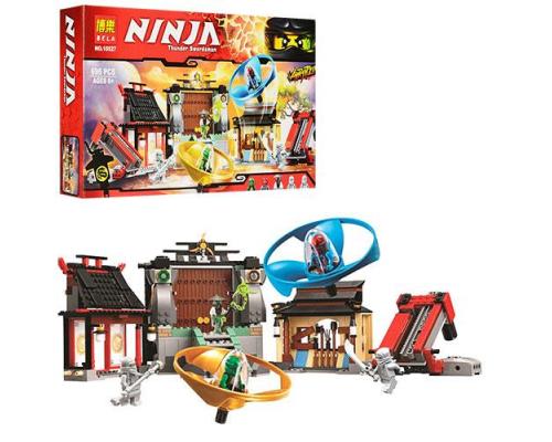 Конструктор Bela Ninja 10527 Боевая площадка аэроджитцу