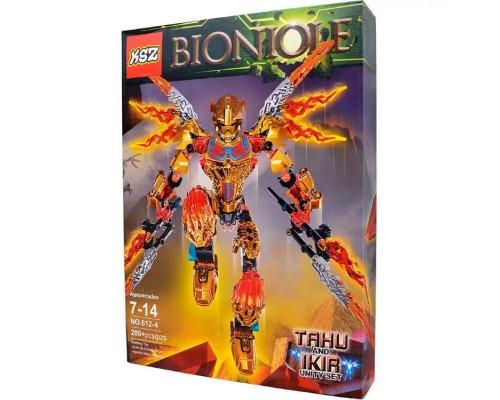 Конструктор KSZ Bionicle 612-4 Таху - Объединитель Огня (аналог Lego) 209 деталей
