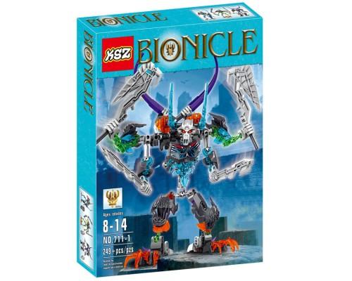 Конструктор KSZ Bionicle 711-1 Стальной череп (аналог Lego) 249 деталей