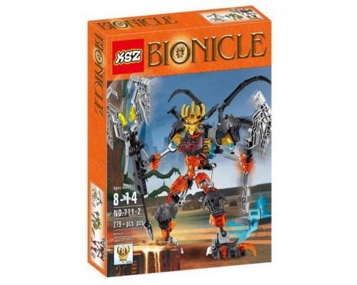 Конструктор KSZ Bionicle 711-2 Повелитель скелетов (аналог Lego) 279 деталей