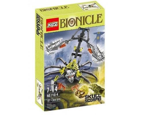 Конструктор KSZ Bionicle 710-4 Череп скорпион
