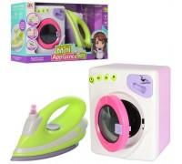 Набор стиральная машинка с утюгом 6999В