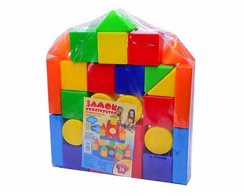 Кубики Замок ИП.07.002 26 деталей