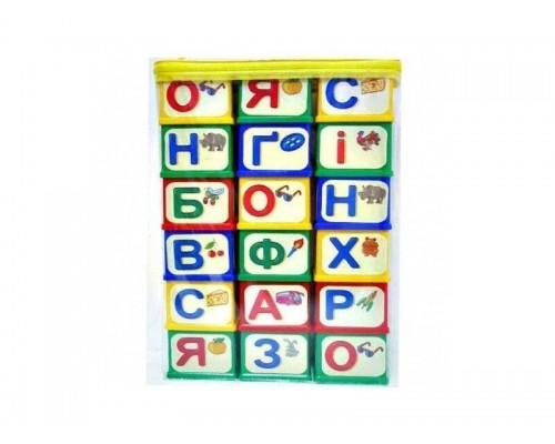 Кубики Азбука Юника в сумке