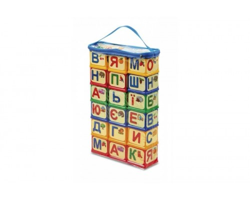 Кубики Абетка Юника 0576 в сумке