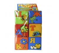 Мягкие кубики 13134 Украинский алфавит